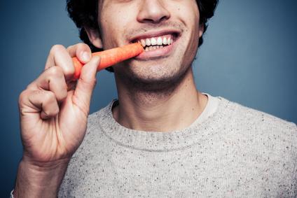Karrotte Zähne